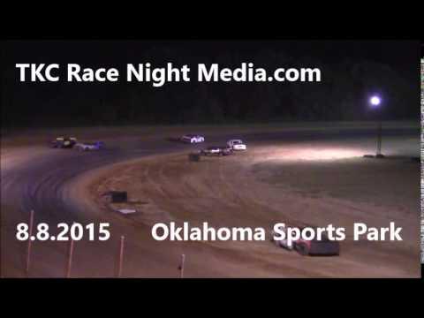 Oklahoma Sports Park Stock Car Oh No!!!