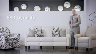 Dynasty Natural Power Reclining Sofa