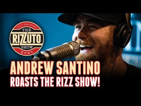 Andrew Santino hosts an impromptu roast [Rizzuto Show]
