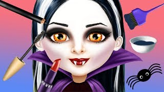 Fun Sweet Baby Girl Halloween Makeup Dress UP Spooky Makeover Kids & Girls Games