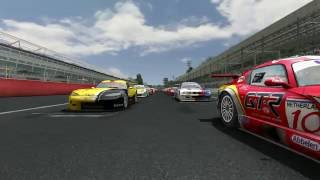 GTR 2 FIA GT Racing Game PC Gameplay [1/5] Español HD: Configuración y calentamiento