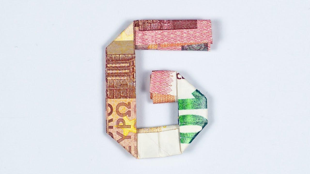 Geld Falten Alphabet Buchstabe G Geldgeschenk Idee Youtube