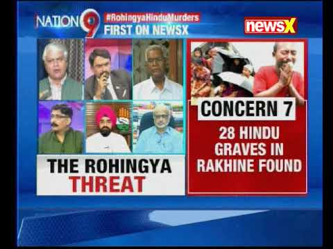 Nation at 9: Hindu mass graves reported in Myanmar; who'll get justice for them?
