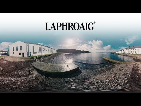 wine article Laphroaig 360 Distillery Tour
