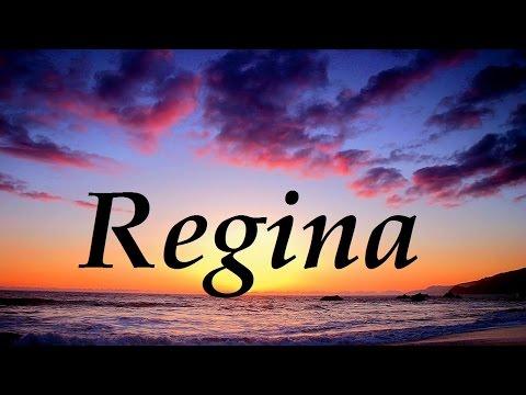 Regina, significado y origen del nombre