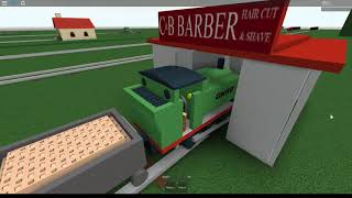 Thomas and Friends Roblox train Crashes