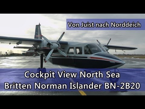Cockpit View Britten Norman Islander BN 2B20