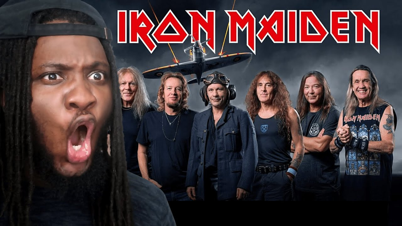 Download FIRST TIME HEARING Iron Maiden - Aces High REACTION