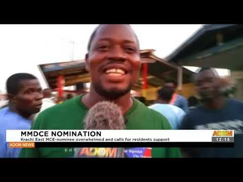 Krachi East MCE nominee overwhelmed and calls for residents support - Premotobre Kasee (20-9-21)