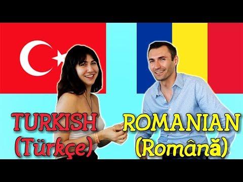 Similarities Between Turkish and Romanian