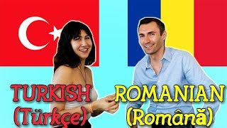 Similarities Between Turkish and Romanian