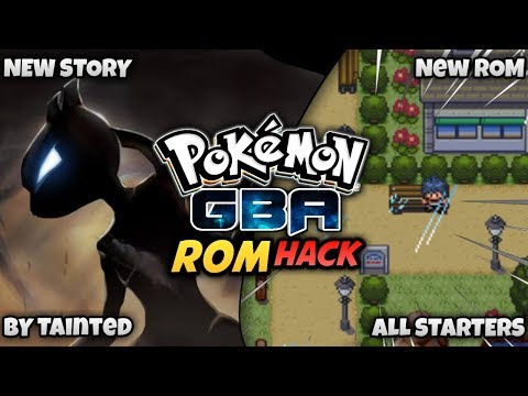New Pokemon GBA ROM HACK With Cool Story And New Region And All Starters
