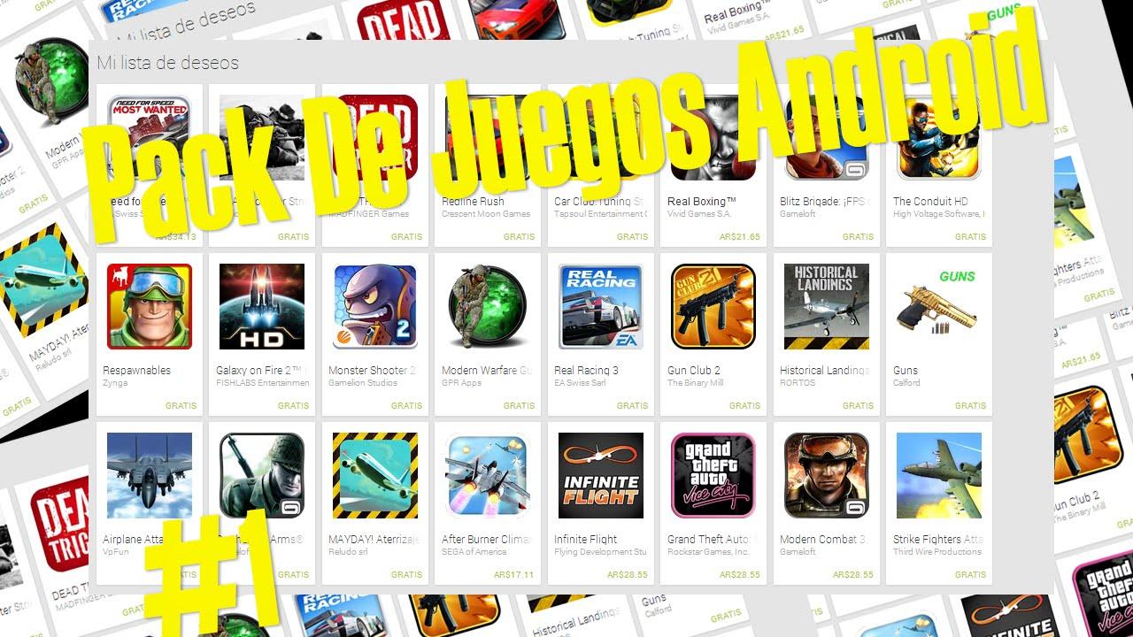 Descargar Pack De Juegos Livianos Para Android 1 Juegos Android Mega
