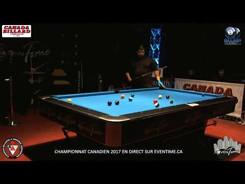 2017 Canadian Pool Championships 8 Ball Open