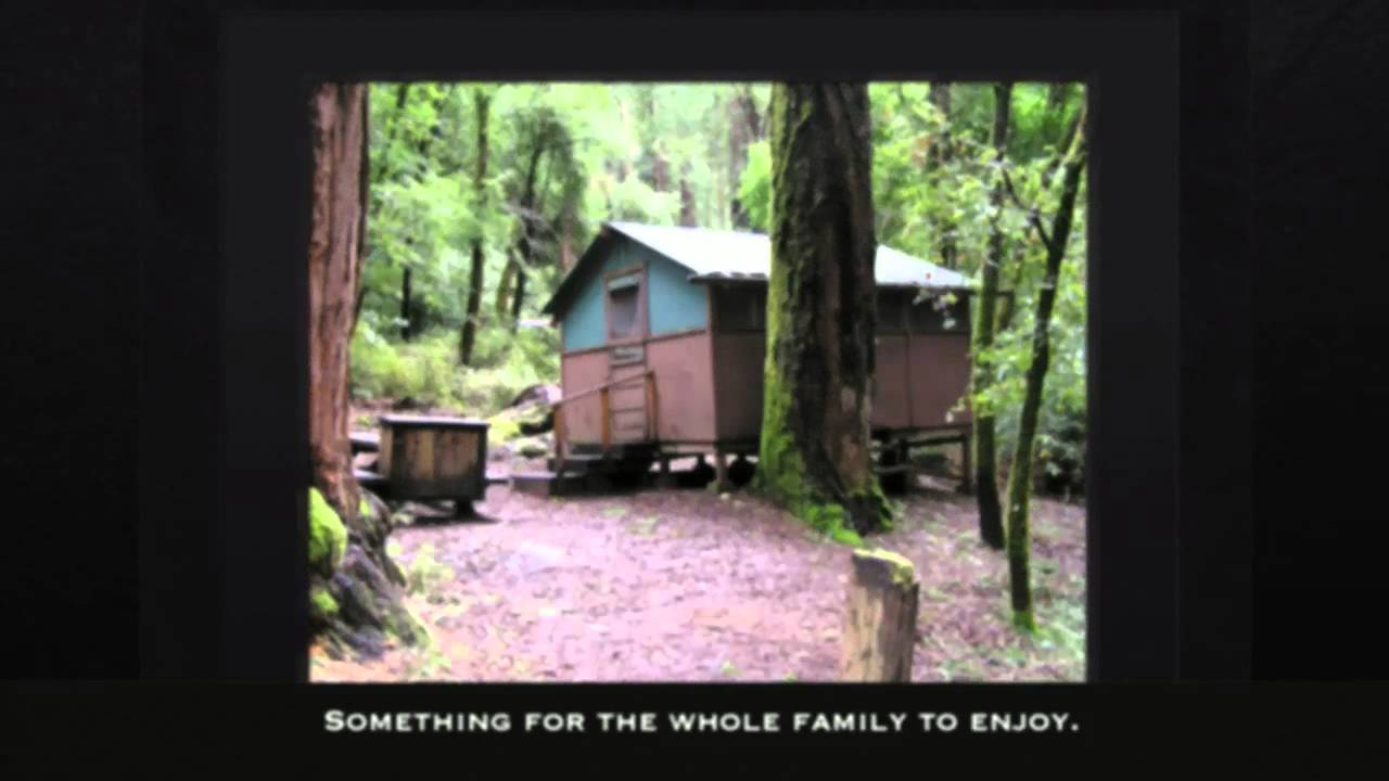 Captivating Big Basin Tent Cabin Rental Information: 800.444.7275
