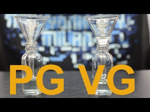 Difference PG vs VG Ejuice? Safe? Side Effects? Mp3