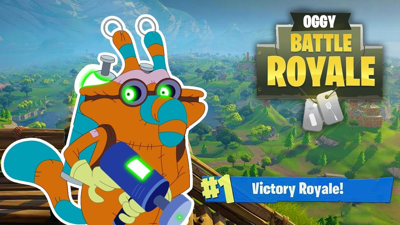 (NEW SEASON 6) Oggy and the Cockroaches ???? FORTNITE ???? Compilation HD Video