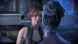 Mass Effect 1&2 - FemShep / Liara - Where we draw the line
