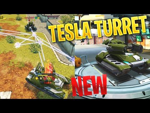 Tanki Online - NEW TESLA TURRET On Test Server!   Preview!