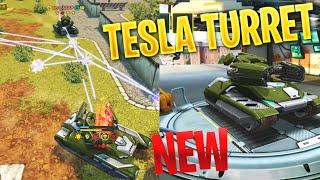 Tanki Online - NEW TESLA TURRET On Test Server! | Preview!