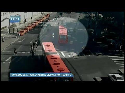 Taxa de atropelamento cresce em Curitiba