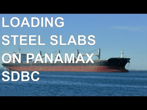 Panamax SDBC 53600 DWT Loading 20000 mts steel slabs at 1st loadport  case #1117