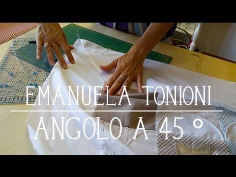 Youtube Come Fare Gli Angoli Alle Lenzuola.Zakkalicious N 4 Angoli A 45 Emanuela Tonioni