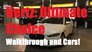 Hertz Ultimate Choice: What is it? What cars available? (Atlanta Airport)