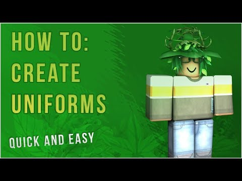 Roblox Tutorial How To Make Cafe Uniforms For Middle Ranks