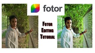 Fotor Photo Editing Tutorial | Fotor Photo Manipulate Tutorial