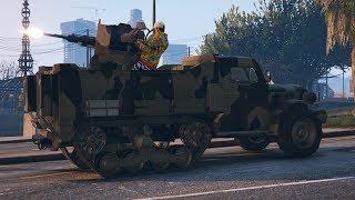DESTRUYENDO CAMIONES DEL GOBIERNO - DLC TRAFICO DE ARMAS (GUNRUNNING) - GTA V ONLINE