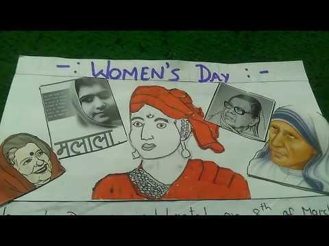 """Write a paragraphon""""WOMENS'DAY"""" in easy words."""
