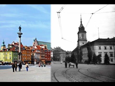 Warszawa kiedyś i dziś. Te same miejsca