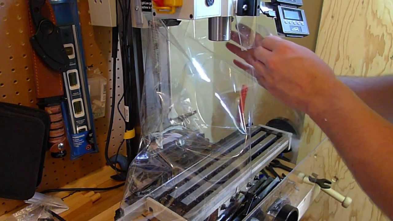 Cheap X2 Mini Mill Cx605 Swarf Chip Guard Youtube