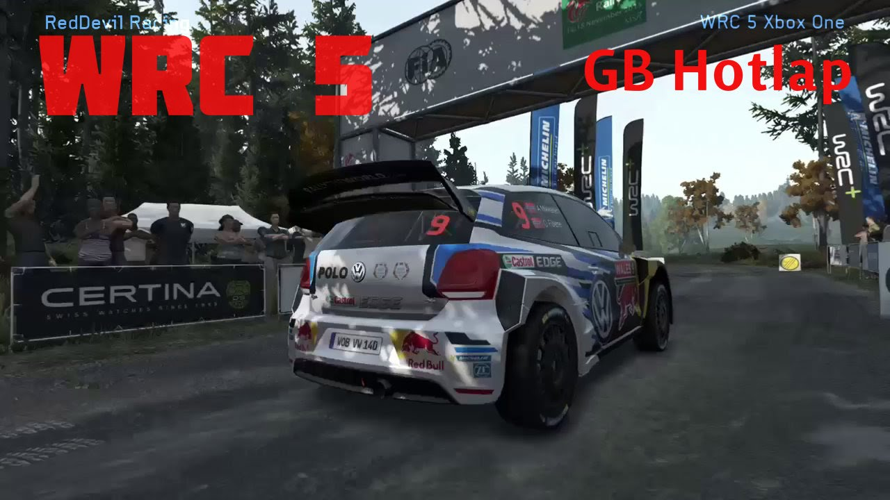 wrc 5 xbox one gameplay youtube. Black Bedroom Furniture Sets. Home Design Ideas