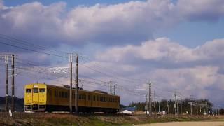 【鉄道動画】旅客も貨物も国鉄型頑張ってます!115系&EF66-36、-33(2017.2.24)