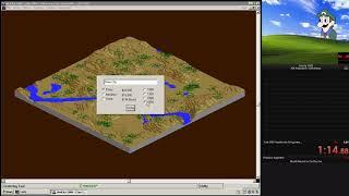 SimCity 2000 - 30k population Speedrun in 1:09.66