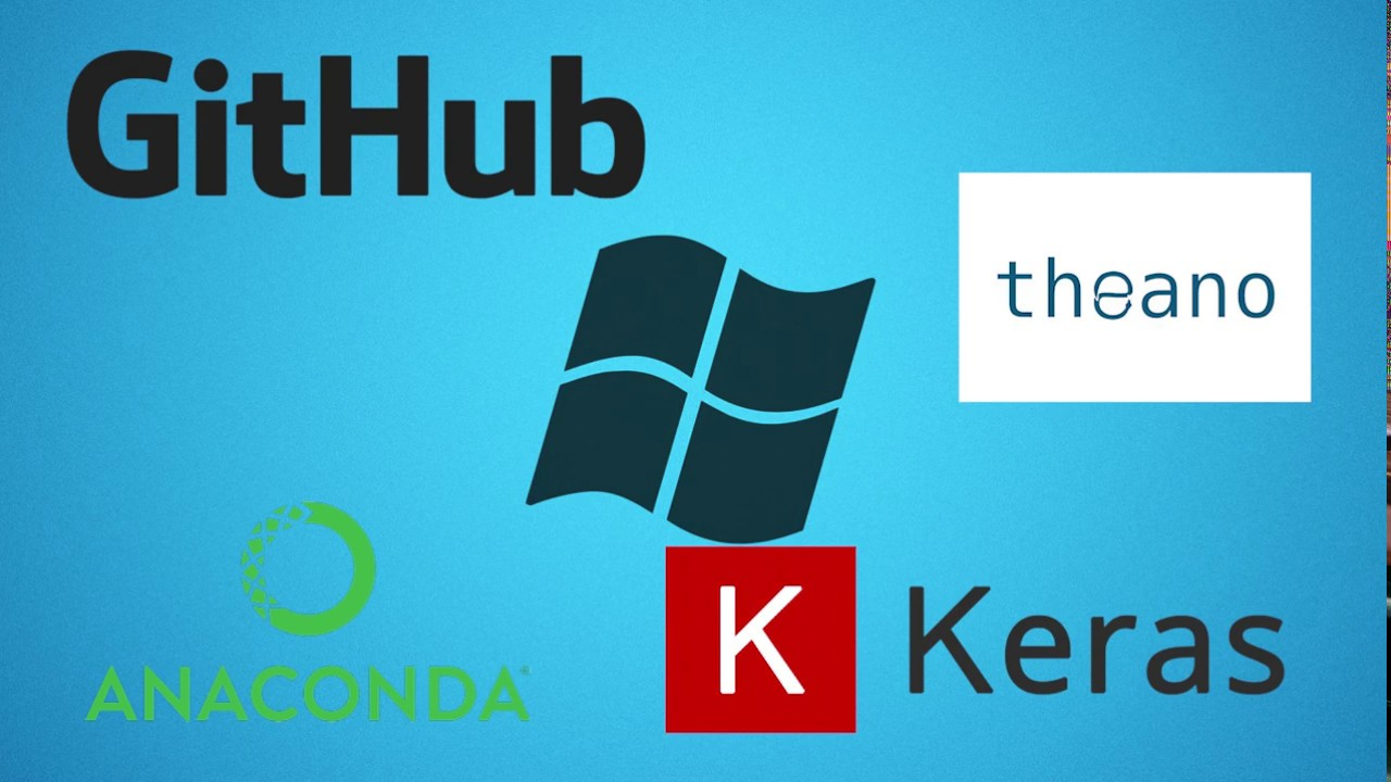 Deep Learning 1 How to Install Theano , Keras , Github , Jupyter