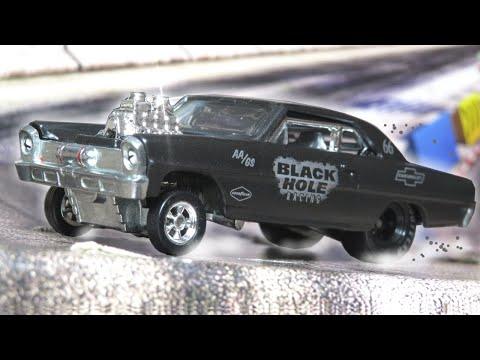 Hot Wheels '66 Chevy Super Nova - Black Hole Racing - Premium Collector Set (2020)