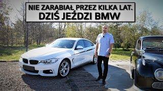 POGROMCA HANDLARZY W BMW ZA 300 TYS. *30 LAT na jednych oponach? | DUŻY W MALUCHU I WIDZOWIE