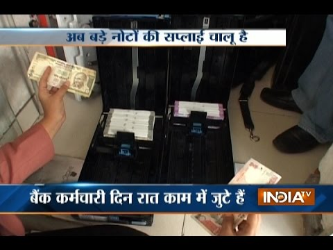 Watch: Cash Being Loaded in ATMs Cassettes for Dispensing Rs 500, Rs 2000 Notes