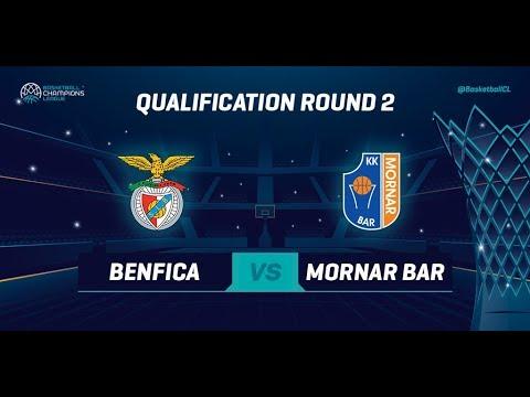 Benfica v Mornar Bar - Qual. Rd. 2 - Full Game - Basketball Champions League 2019