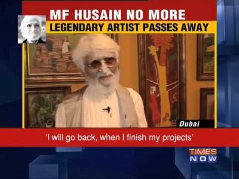 MF Husain's last interview to TIMES NOW - Part  2
