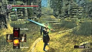 Dark Souls - Moonlight Greatsword Build