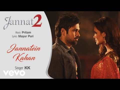 Jannatein Kahan - Official Audio Song | Jannat 2| KK |Pritam