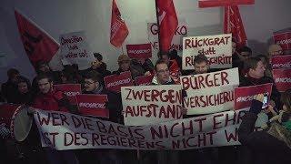 Jusos gegen Schulz: