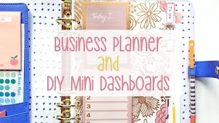 Business Planner and DIY Mini Dashboards