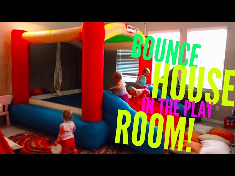 Facebook Live - Bounce House in the Play Room