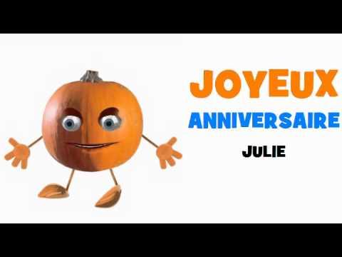 Joyeux Anniversaire Julie