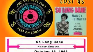Nancy Sinatra - So Long Babe - 1965